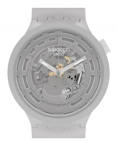 Swatch Big Bold Ceramic C-Grey SB03M100