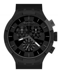 Swatch Big Bold Chrono Checkpoint Black SB02B400