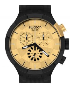 Swatch Big Bold Chrono Special Checkpoint Golden SB02Z400
