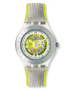 Swatch Irony Diaphane Automatik Citrime SVDK4002