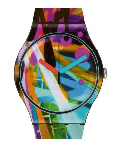 Swatch New Gent City Walls SUOB163