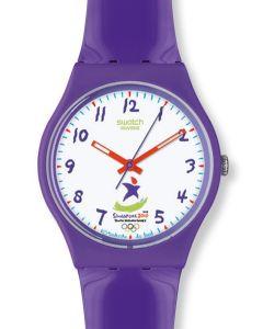 Swatch Gent Variante Climb the Top Purple GZ224C