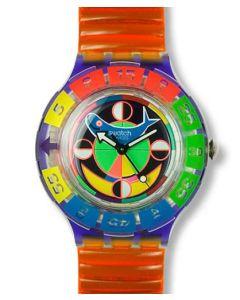 Swatch Scuba 200 Color Wheel Inspyral SDV101CA/B