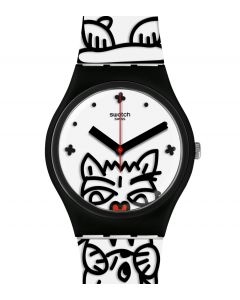 Swatch Gent Comicat GB322