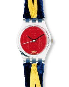 Swatch Lady Cord on bleu LG114