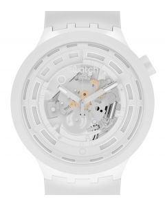 Swatch Big Bold Ceramic C-White SB03W100