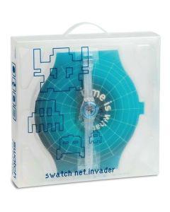 Swatch Gent Access Special Cyber Commander / Net Invader SKK114Pack