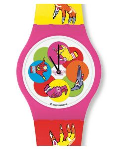 Swatch Puzzle Motion Dancing Hands SUPP101