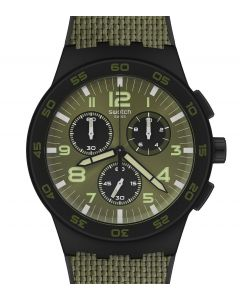 Swatch Chrono Plastic Dark Forest SUSB105