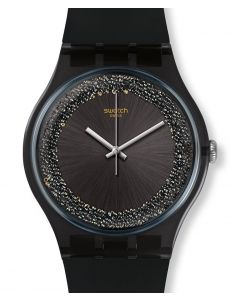 Swatch New Gent Darksparkles SUOB156