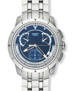 Swatch Irony Retrograde Chrono Dark Steel YRS400G