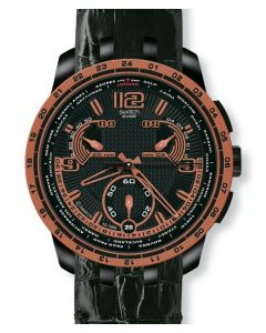 Swatch Irony Retrograde Chrono Dark Sun YRB400