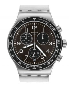 Swatch Irony New Chrono Deepgrey YVS465G