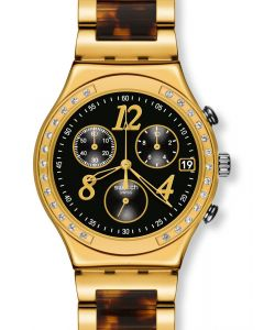 Swatch Irony Chrono DREAMNIGHT 14 GOLDEN YCG405GC