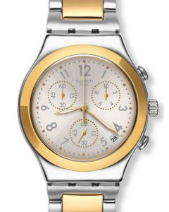 Swatch Irony Chrono DREAMNIGHT GOLDEN YCS590G
