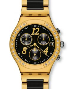 Swatch Irony Chrono DREAMNIGHT YELLOW YCG405G