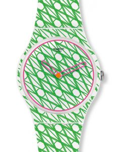 Swatch New Gent Special DUET IN GREEN & PINK SUOZ208