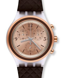 Swatch Irony Diaphane Chrono Elebrown SVCK1005