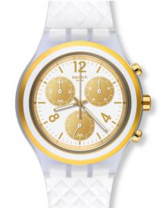 Swatch Irony Diaphane Chrono Elegolden SVCK1008