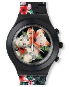 Swatch Diaphane Chrono Flower Breeze SVCF4002AG