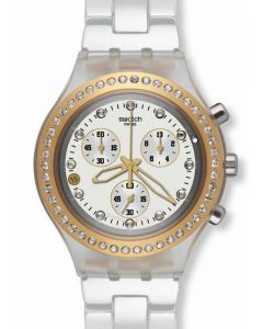Swatch Irony Diaphane Chrono FULL BLOODED MARVELOUS YELLOW SVCK4068AG