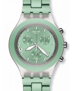 Swatch Irony Diaphane Chrono FULL BLOODED MINT SVCK4056AG