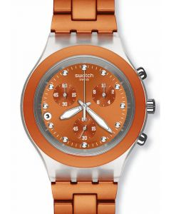 Swatch Irony Diaphane Chrono Full Blooded Naranja SVCK4051AG