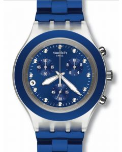 Swatch Irony Diaphane Chrono FULL BLOODED NAVY SVCK4055AG