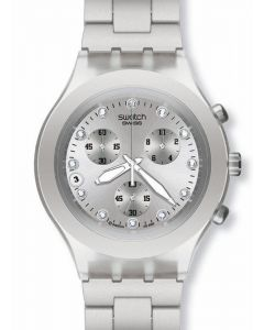 Swatch Irony Diaphane Chrono Full Blooded Silver SVCK4038G
