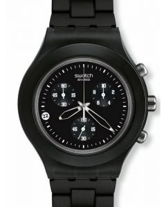 Swatch Irony Diaphane Chrono FULL BLOODED SMOKY BLACK SVCF4000AG