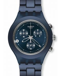 Swatch Irony Diaphane Chrono FULL BLOODED SMOKY BLUE SVCN4004AG