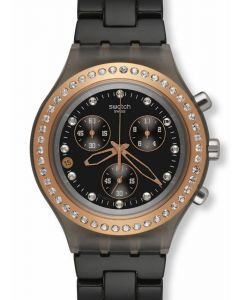 Swatch Irony Diaphane Chrono FULL BLOODED STONEHEART BLACK SVCM4008AG