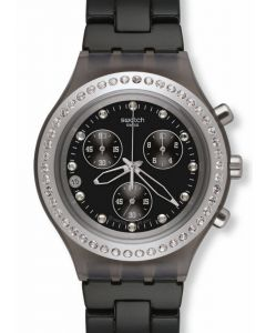 Swatch Irony Diaphane Chrono FULL BLOODED STONEHEART SILVER SVCM4009AG