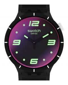 Swatch Big Bold Futuristic Black SO27B119