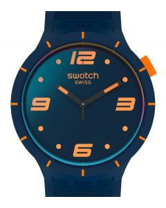 Swatch Big Bold Futuristic Blue SO27N110