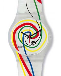 Swatch Jelly in Jelly Global Thinking sujz400std