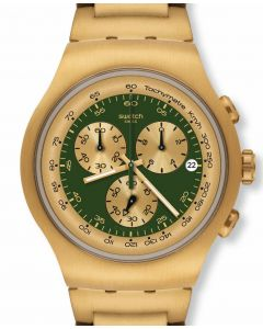 Swatch Irony The Chrono GOLDEN BLOCK GREEN YOG406G