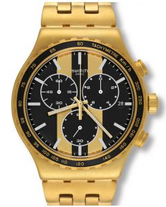 Swatch New Irony Chrono Golden Fever YVG400G