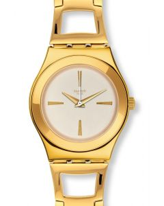 Swatch Irony Medium Goldenli YLG134G