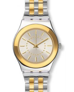 Swatch Irony Medium Goldensilver YLS207G