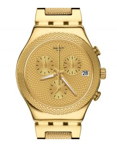 Swatch Irony Chrono Goldy Full YCG420G