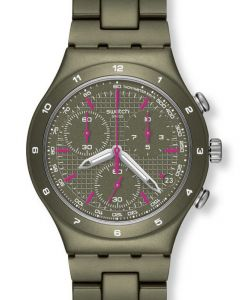 Swatch Irony Chrono GREEN COAT YCM4002AG