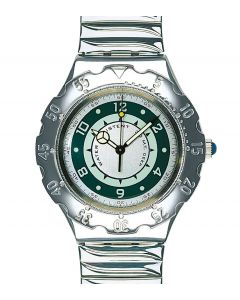 Swatch Irony Scuba Green Coral YDS101