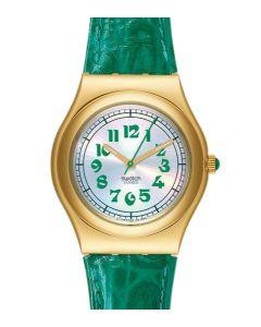 Swatch Irony Medium Greengammon YLG100