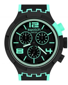 Swatch Big Bold Chrono Green Pays Pay! SB02B100