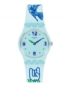 Swatch Lady #GreenTouche LN157