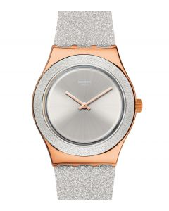 Swatch Irony Medium Grey Sparkle YLG145