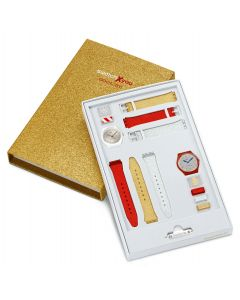Swatch Gent X-Mas Special Swatch X You Seasons Set Gold GZS71