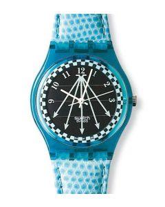 Swatch Solar Happy Blue SRN100