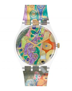 Swatch Gent Hop II,  by Gustav Klimt, The Watch GZ349